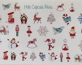 Winter Wonderland Planner Stickers