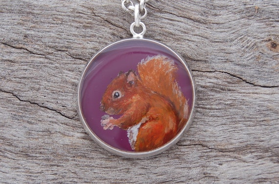 Hand Painted Squirrel