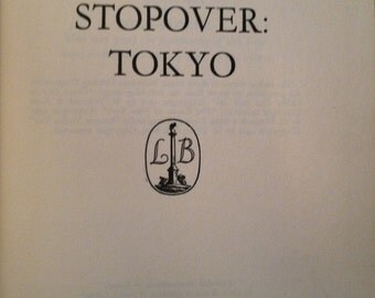 "Vintage Book ""Stopover: Tokyo"" John P. Marquand 1950's (Free Shipping!)"