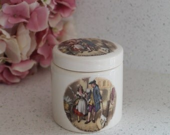 Vintage Earthen Ware Marmalade Jar/Frank Cooper Marmalade Jar/Sandland Ware/Kitchen(Ref1956M)
