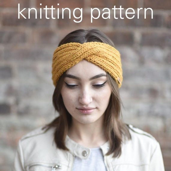 Rib Knit Headband Patterns Patterns Kid