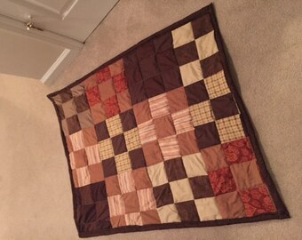 Dark Brown Quilt