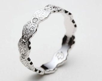 Diamond Wedding Band, Diamond White Gold Wedding Band, Diamond Wedding Ring, Diamonds White Gold Band, Wedding Ring Diamonds, Gold Ring