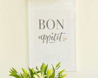 Bon Appétit - Printable Sign