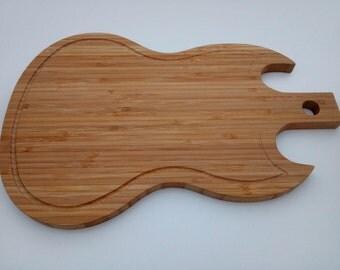 Guitar From Kitchen Worktop