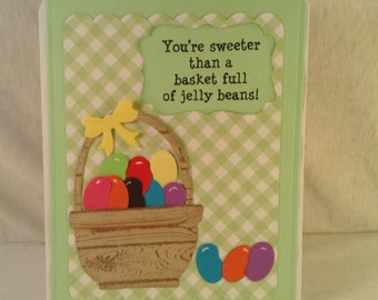 Jelly Bean Easter Card