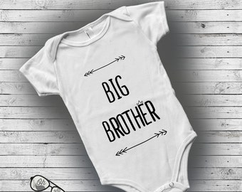 Big brother little brother outfits, Baby personalized gifts, sibling sets, Custom baby onesie, infant boy clothes, Hipster baby boy clothes
