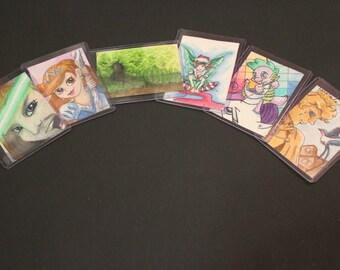 Custom Artist Trading Card