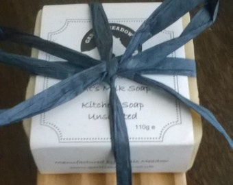 Handmade Goats Milk Soap with Soap Ladder
