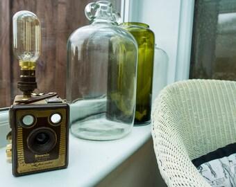 Kodak Brownie Six-20 Model F Camera Lamp (Special Gold colour)