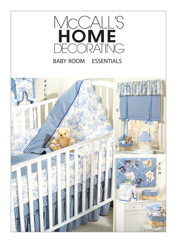 Sewing Pattern For Baby S Nursery Mccall S 4328 Baby