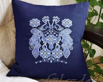 Decorative Pillow Cover, Natural linen pillow cower, decorative pillow, throw pillow cover