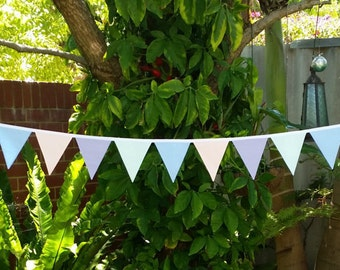Pretty pastel bunting. Perfect for kids tea parties, weddings, birthdays and more.