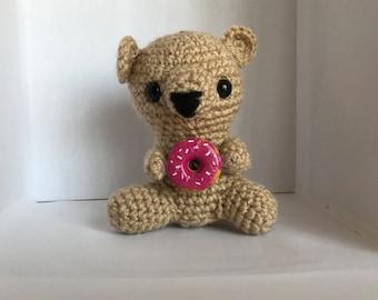 Amigurumi Doughnut Bear