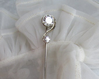 Antique Diamond Stick Pin
