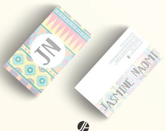 Business Card Design, Aztec, Template, Double-sided, Small Business, Business, Business Identity, Stationery, Business Cards, Pre-made