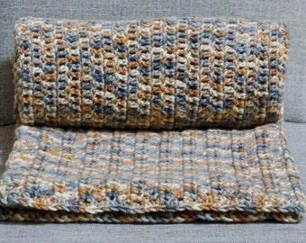 Handmade Crochet Afghan, Sofa Throw, Lap afghan, Crochet Blanket, House Warming Gift