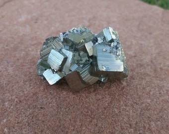 Pyrite Crystal Cube Cluster | Fool's Gold | Mineral Specimen | Healing Stones #10