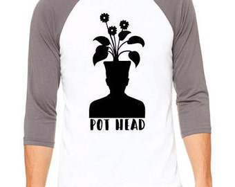 BASEBALL POT head shirt