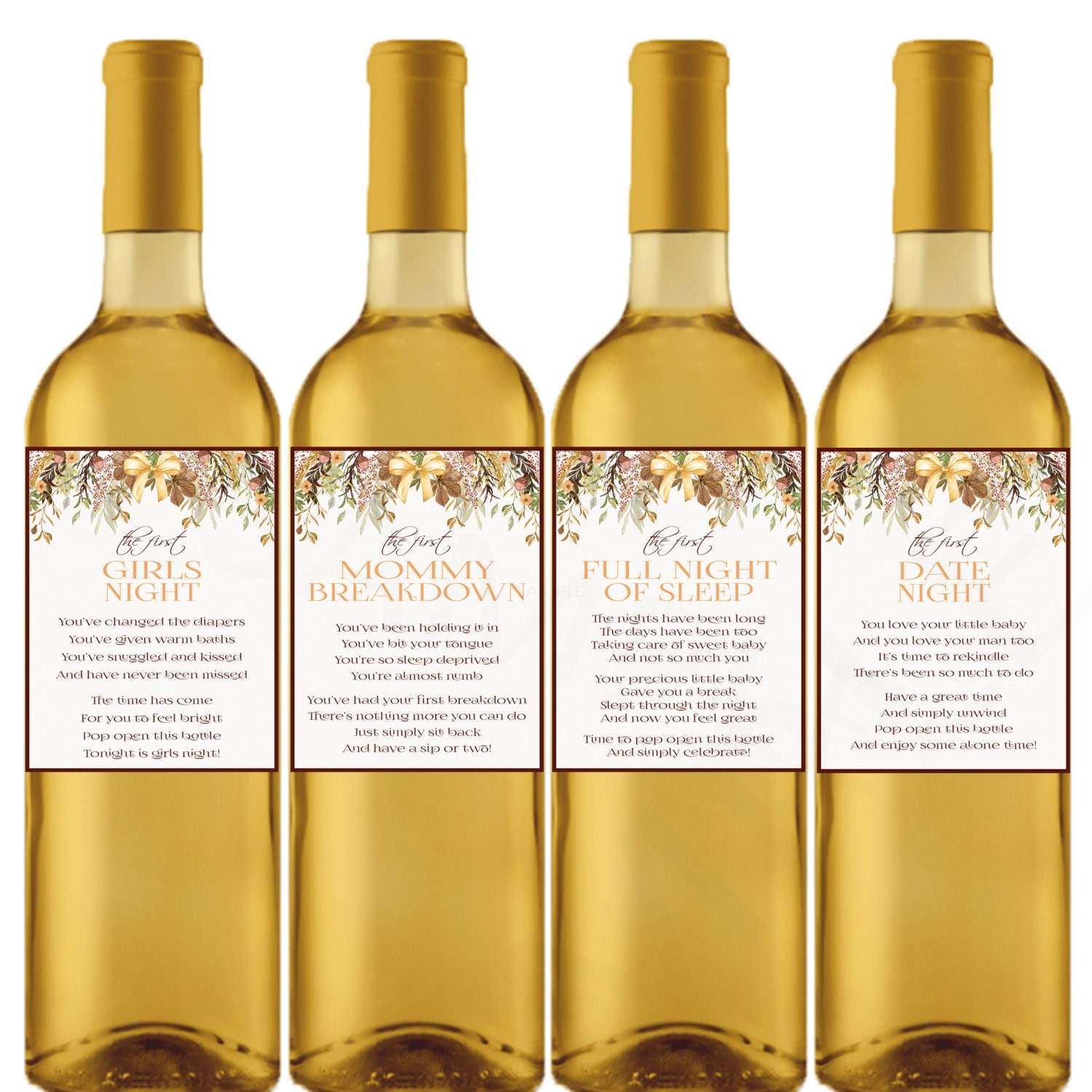 This is a photo of Accomplished Wine Labels Printable