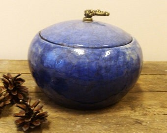 RAKU ceramic box