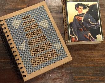 Hand-Stitched Abhorsen Bells Journal
