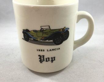 Vintage FPC England Vintage Car 1925 Lancia Pop Mug For Dad