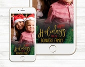 Christmas Snapchat Geofilter, Holiday Snapchat Geofilter, Happy Holidays, Merry Christmas, Holiday party Custom Snapchat Geofilter Christmas