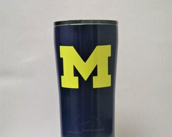 Michigan, yeti, ozark, powder coated, custom yeti, custom ozark, michigan state, tumbler, tumblers, personalized gift, powder coat, custom