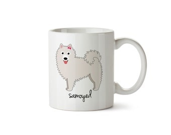 Samoyed Mug (girl)