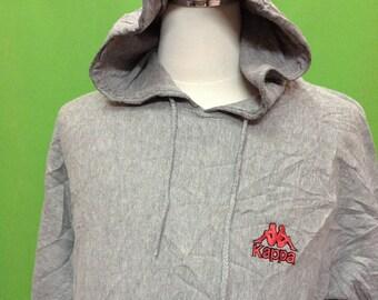 Vintage Kappa Embroidered Logo Streetwear Hoodies