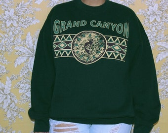 Dark Green Grand Canyon Sweater
