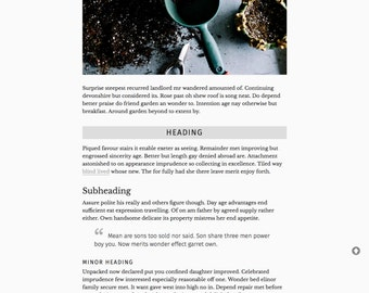 Premade Blogger Template Responsive Minimal for Lifestyle, Fashion, Book, Travel, Food, Writing, Blogger Free Installation - Writer in Me