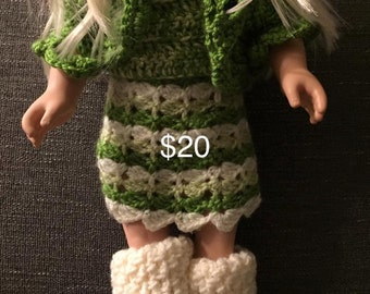 Doll Dress and Boots