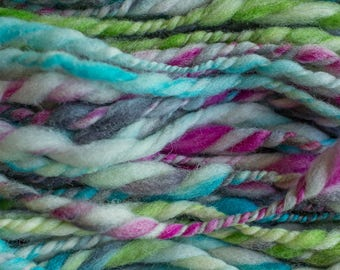 Handspun Art Yarn, 50yrds, 3.9oz/111g