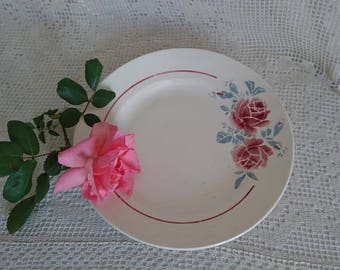 "Serving plate BADONVILLER - FENAL ""Strasbourg"". 40 years, FRANCE."