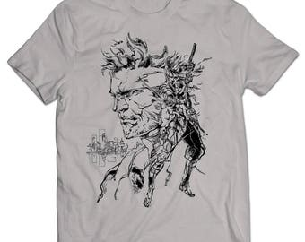 Metal Gear Solid 2: Sons of Liberty Snake and Raiden T-shirt
