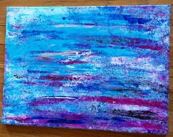 Acrylic Colors and Strokes Painting