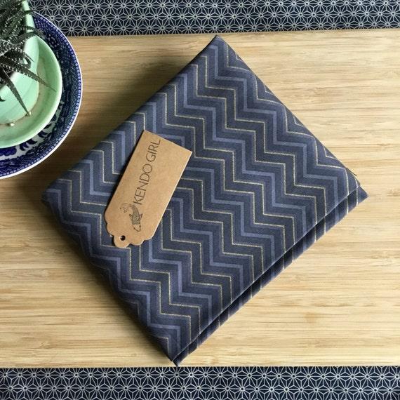 Furoshiki Gift Wrapping Cloth - Japanese Cotton Furoshiki - Chevron Design by Kendo Girl