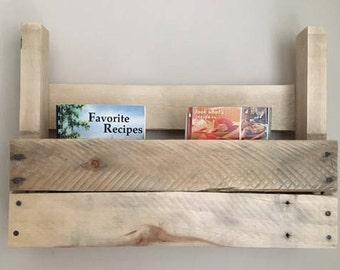 rustic shelf pallet shelf raw wood shelf rustic decor rustic kitchen shelf