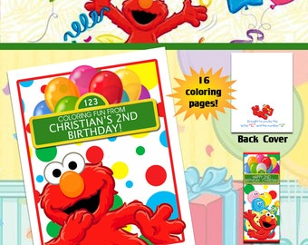 Elmo Sesame Street Coloring Book with Crayons