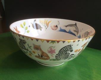 Lynn Chase Harmony Bowl, fine porcelain, signed!