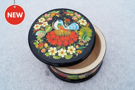 Easter gift jewelry box black box wooden jewelry box gift for like this item negle Image collections