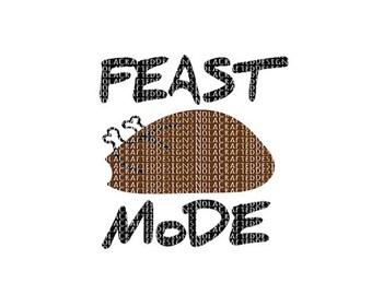 Thanksgiving Svg - Thanksgiving Png - Thanksgiving Cut file for silhouette Cricut - Turkey Svg - Turkey Png - Turkey EPS - DXF