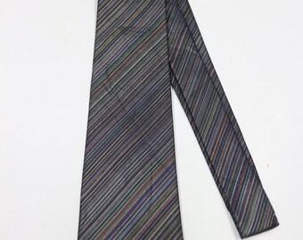 Vintage MITSUKOSHI Blue Necktie