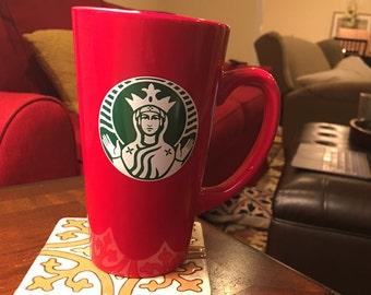 Christmas latte mug