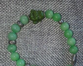The zen Budhha bracelet joy love Yoga hers