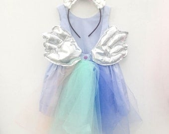 SILVER Unicorn costume girls Halloween Little Pony costume for girls and toddlers, unicorn tutu by berry and kit