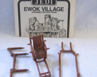 Ewok Village Assembly Instructions and Thone