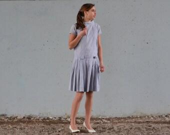 1950s checkered dress   juniors dress   Size xs